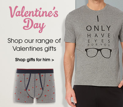 Valentines. Shop our range of Valentines gifts. Shop gifts for him.