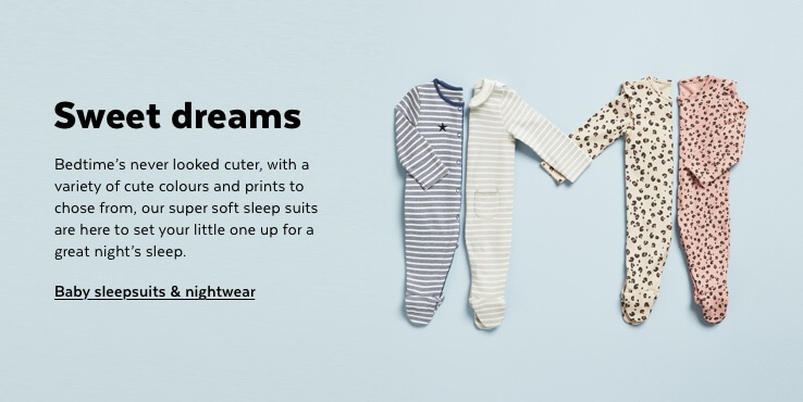 Baby Sleepsuits & Nightwear