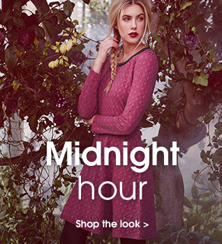 Midnight hour. Shop the look.