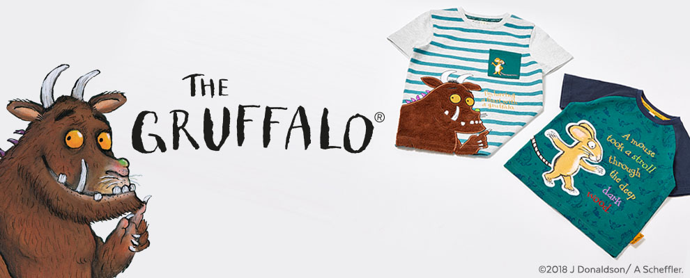Gruffalo Clothing   Kids Gruffalo Clothes   Tu clothing