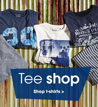 Tee shop. Shop tshirts