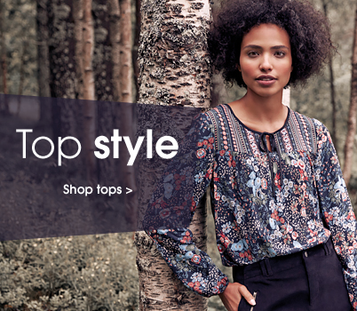 Top style. Shop tops.
