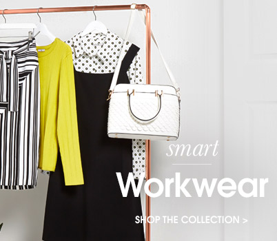 smart workwear. shop now.