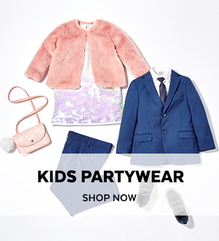 Kids Partywear. Shop Now.