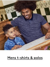 Mens t-shirts & polos