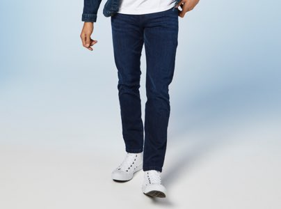 Mens Tapered Jeans
