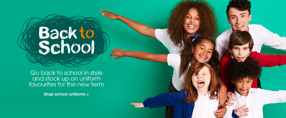 Summer schoolwear. Shop school uniform.