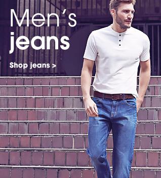 Men's jeans. Shop jeans.