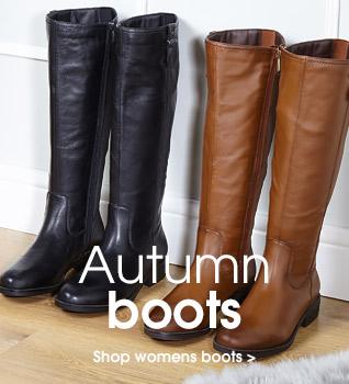 Autumn Boots Shop Womens Boots