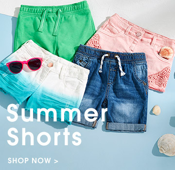 summer shorts. shop now.