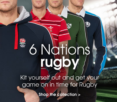 Rugby 6 nations. Kit yourself out and get your game on in time for the rugby. Shop the collection.