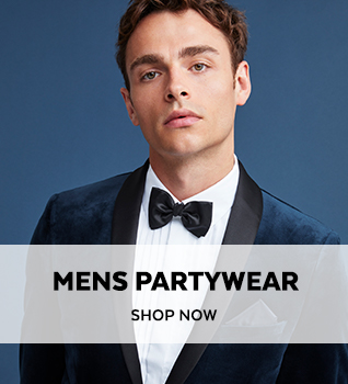 Mens Partywear. Shop Now.