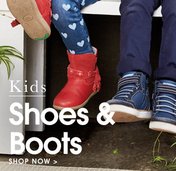 Kids shoes and boots. Take a look.