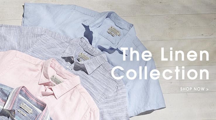 Linen Collection. Shop now.