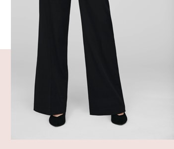 Womens Wide Legged Trousers Cut