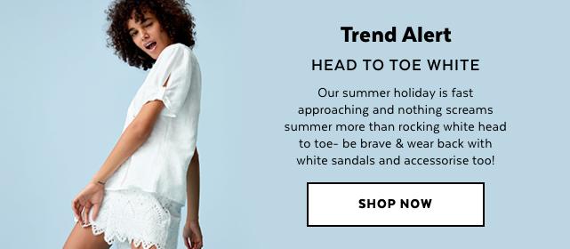 Womens White Trend