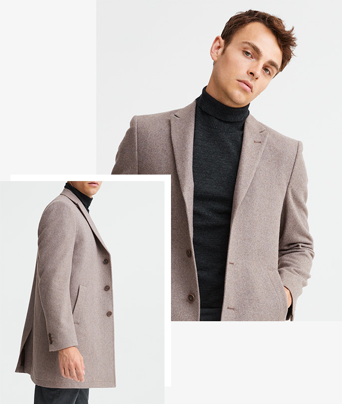Wool Blend Coats