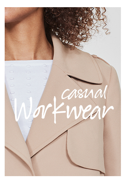 Casual Workwear. Shop now.