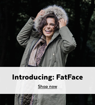 Introducing FatFace. Shop Now.