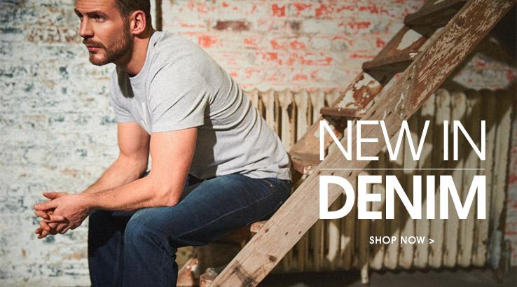 New In Denim. Shop Now.