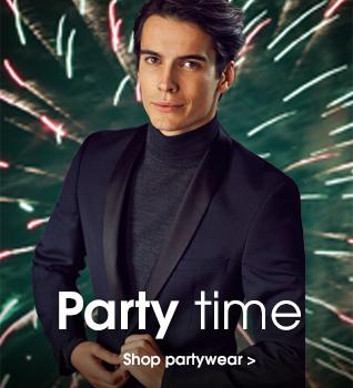 Party time. Shop partywear.