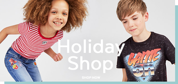 Holiday Shop. Shop now.