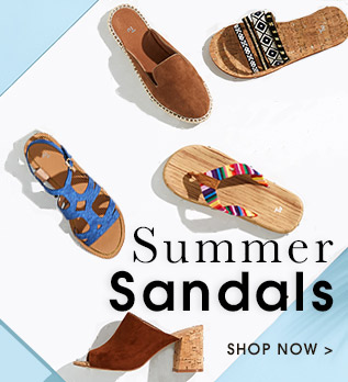 Summer Sandals. Shop now.