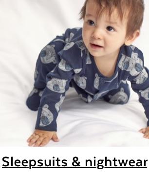 Baby Sleepsuits & Nightwear