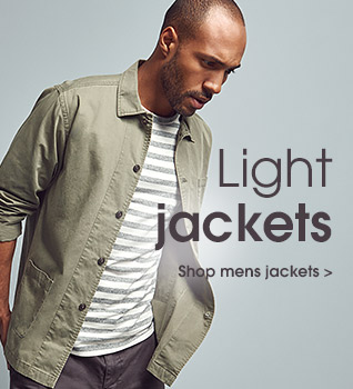 Light jackets. Shop mens jackets