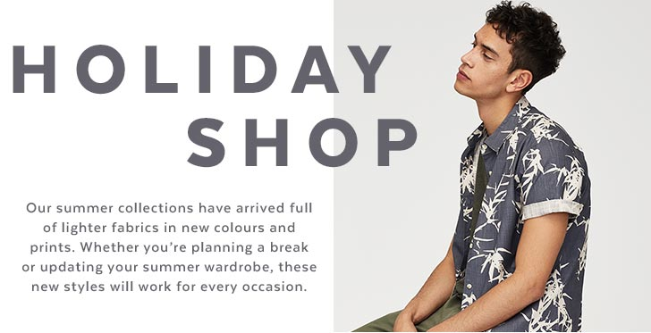 Mens Tu Holiday Shop Clothing