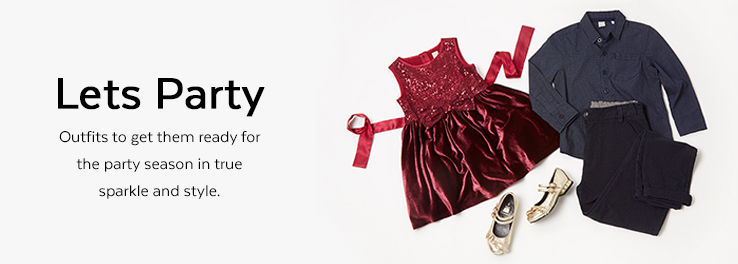 Shop Kids Partywear