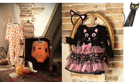 Toddler and baby Halloween clothing