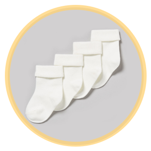 Baby socks and tights