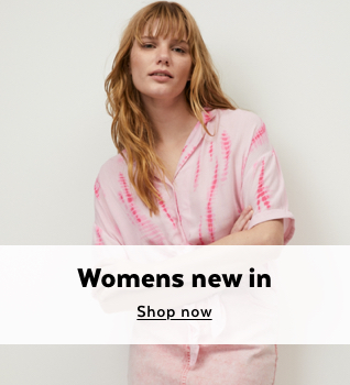 Womens New In. Shop Now.
