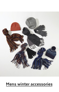 Mens winter accessories