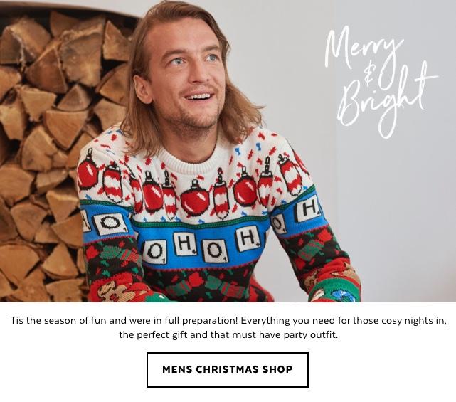 Mens Christmas Shop