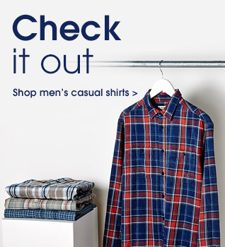 Check it out. shop men's casual shirts.
