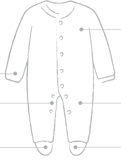 Sleepsuit Diagram