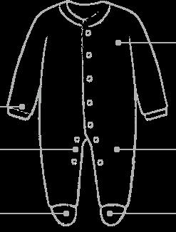 Sleepsuit Diagram