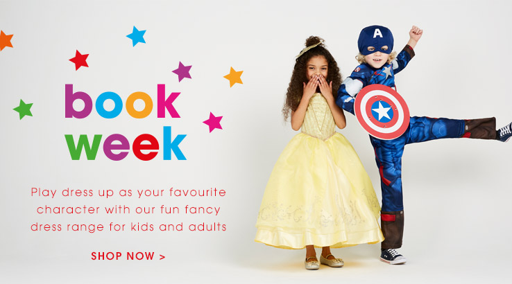 Book week. Shop now.