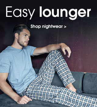 Easy lounger. Shop nightwear.