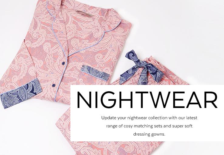 Nightwear. Shop now.