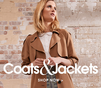 Coats and jackets. Shop now.