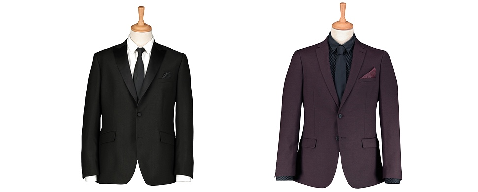 Tailored and Slim fit suits
