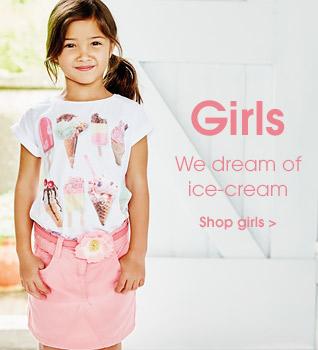 Girls. We dream of ice-cream
