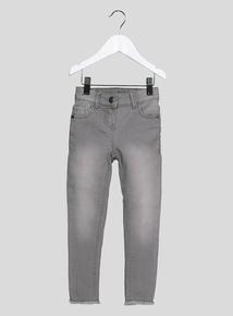 Grey Skinny Stretch Jeans (3-14 Years)