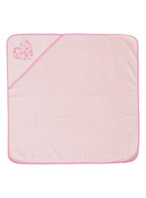 Girls Pink Hooded Towel