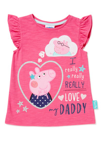 Pink Peppa Pig T-shirt (9 months-6 years)