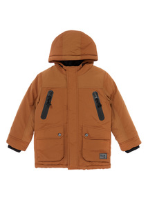 Boys Brown Jacket (3-12 years)