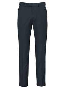 Petrol Blue Slim Fit Suit Trousers